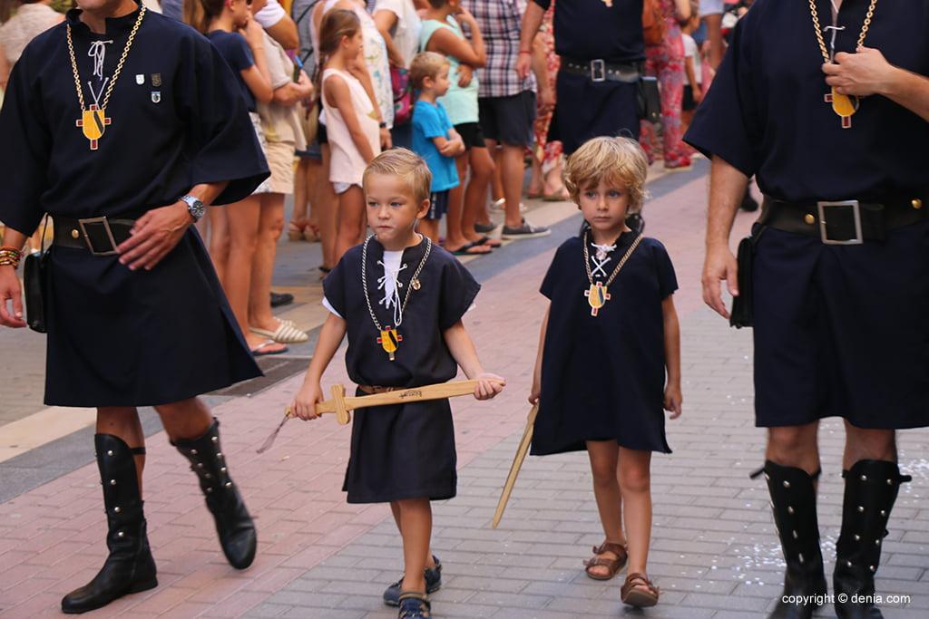 Desfilada infantil de Moros i Cristians 2019 07