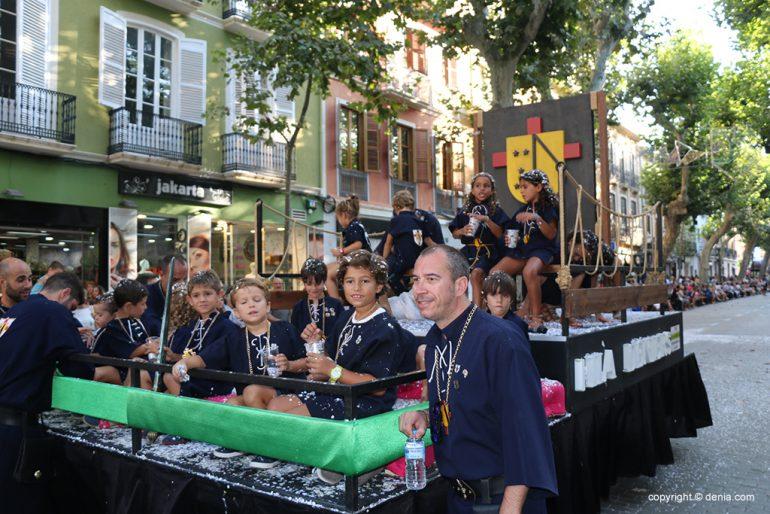 Desfilada infantil de Moros i Cristians 2019 11