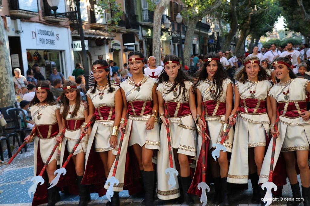 Desfilada infantil de Moros i Cristians 2019 29