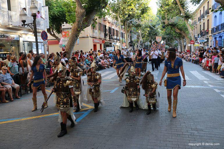 Desfilada infantil de Moros i Cristians 2019 38