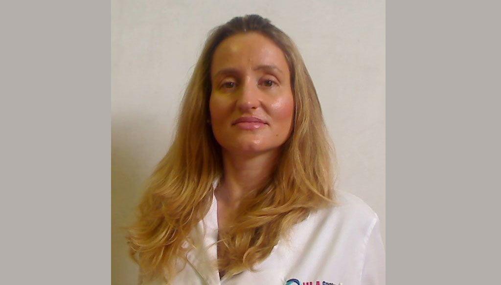 Doctora Almudena Monteagudo dermatóloga HLA San Carlos