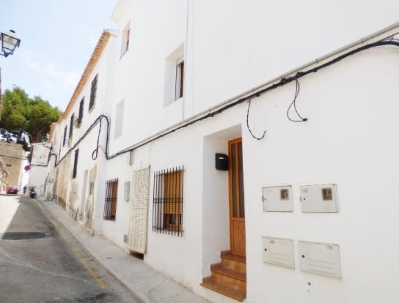 Fachada piso zona calle Loreto en Dénia - Mare Nostrum Inmobiliaria