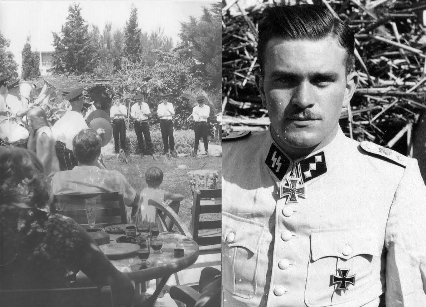 Festes celebrades a Dénia per un oficial nazi fugit