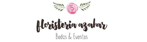 Logotipo Floristería Azahar – Bodas y Flores