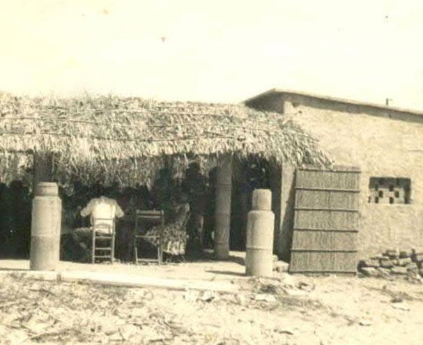 Foto històrica dels començaments de la família Noguera - Hotel Noguera Mar