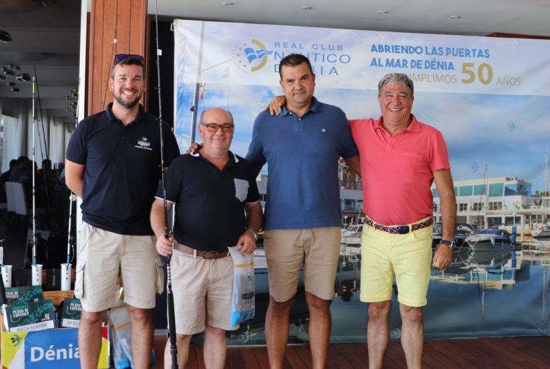Pareja mayor Concurso Pesca de Especies - Real Club Náutico Dénia