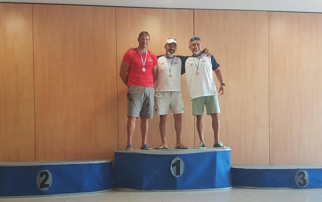 Podium veterans - Reial Club Nàutic Dénia