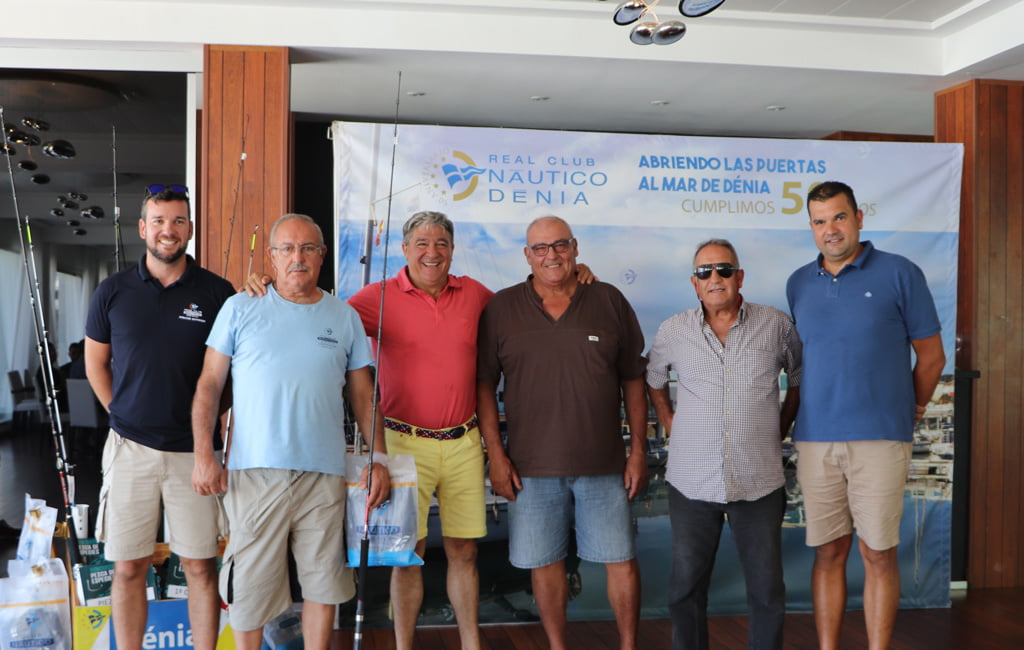 Primer Premio Concurso Pesca de Especies – Real Club Náutico Dénia