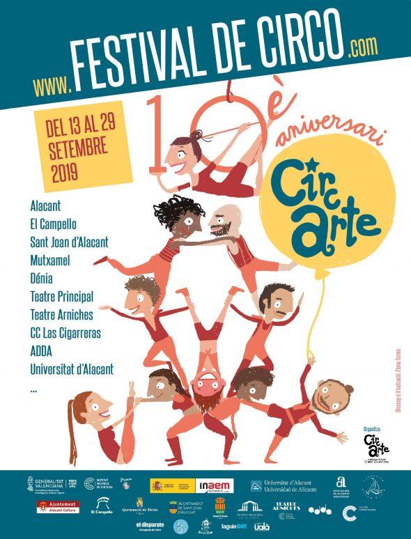 Bild: 10º-Jubiläum von Circarte in Dénia