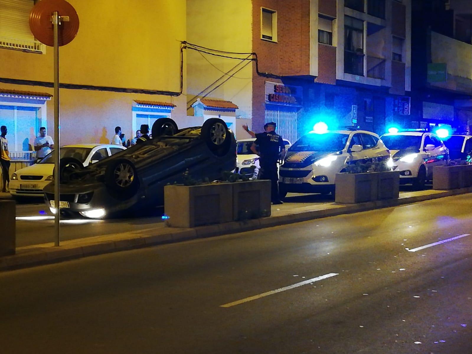 Accident a l'Avinguda Alacant