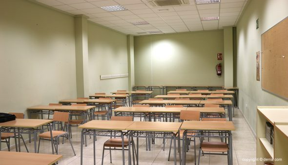 Immagine: Aula dell'ex scuola ufficiale di lingue