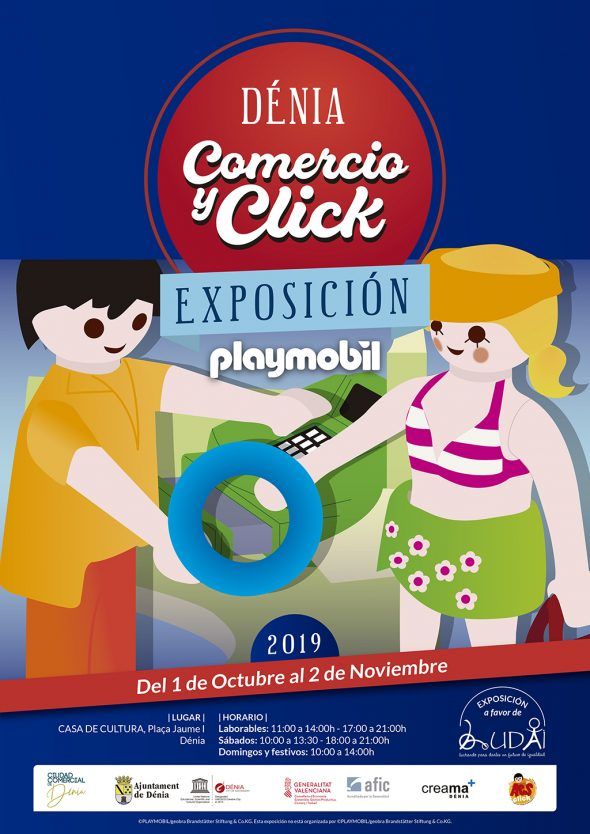Immagine: Poster 'Commerce and Click'