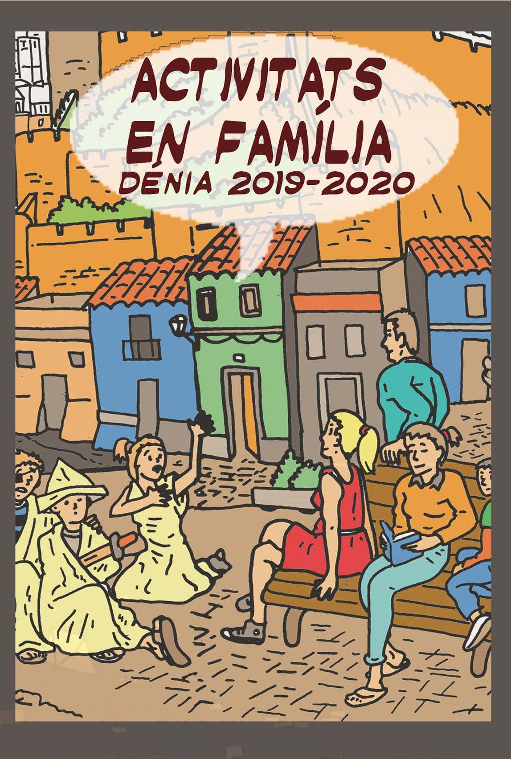 Cartel Activitats en Familia 2019-2020