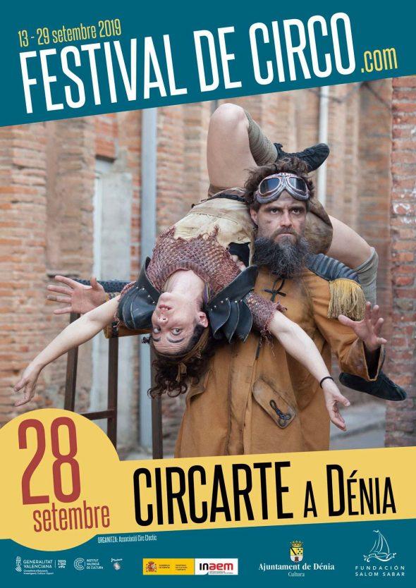 Bild: Circarte Plakat in Dénia