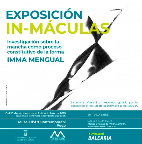 Imatge: Cartell de l'Exposició a Pego d'Imma Mengual