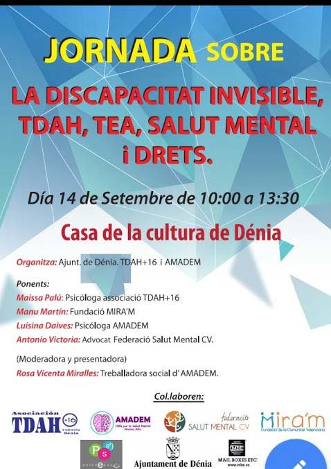 Image: Poster of the invisible disability Day