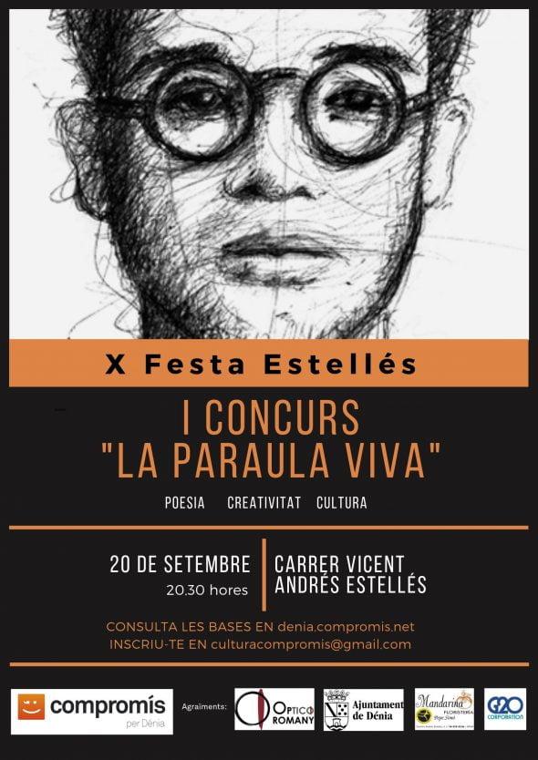 Imagen: Cartel del Concurso 'La Palabra Viva'