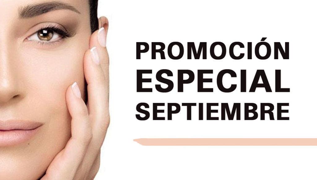 Cartell promoció especial de bellesa a Centre Fisiobioestètic