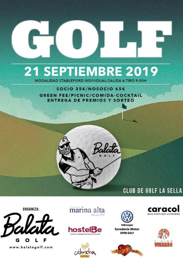 Image: Balata 2019 Trophy Poster - La Sella Golf