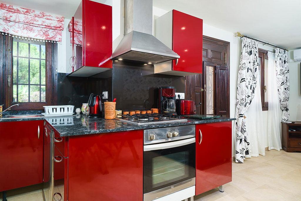 Cuisine moderne avec tout le confort - Aguila Rent a Villa