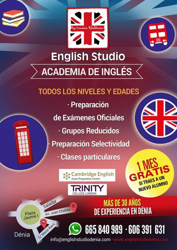 Imatge: Començament de curs i matrícula oberta amb oferta de matriculació - English Studio