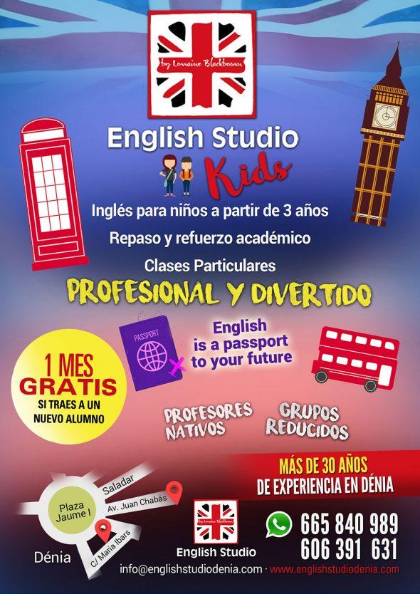 Imatge: English Studio Kids està enfocat a l'aprenentatge d'anglès per a nens a partir de 3 anys