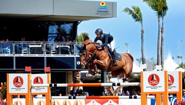 Imagen: Competición ecuestre en el Centro Ecuestre Oliva Nova