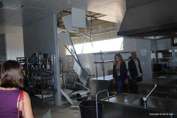 Imagen: Comprobación de las cocinas del CdT