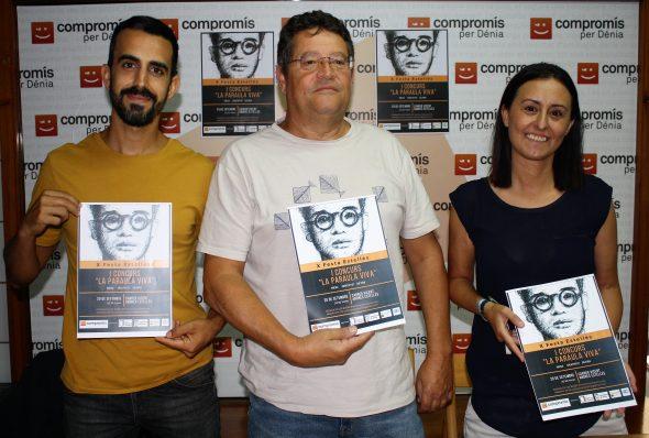 Afbeelding: Compromís per Dénia presenteert zijn toewijding aan poëzie