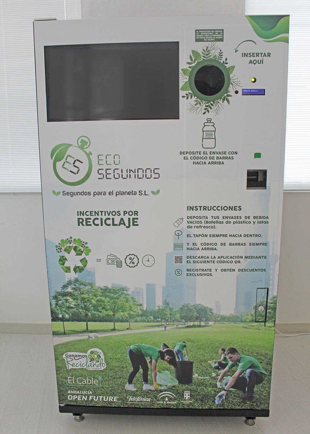 Smart container for recycling initiative in the Marina Alta - Almudena Seguros Dénia Benidorm Altea