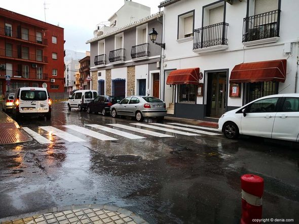 Imagen: Día de lluvia en Dénia