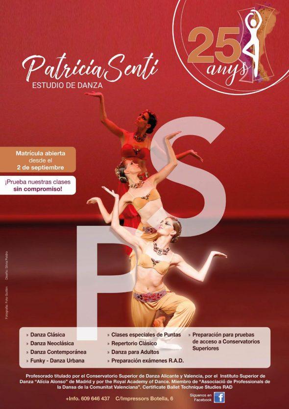 Imagen: Disciplinas de danza y matrícula abierta - Estudio de Danza Patricia Sentí