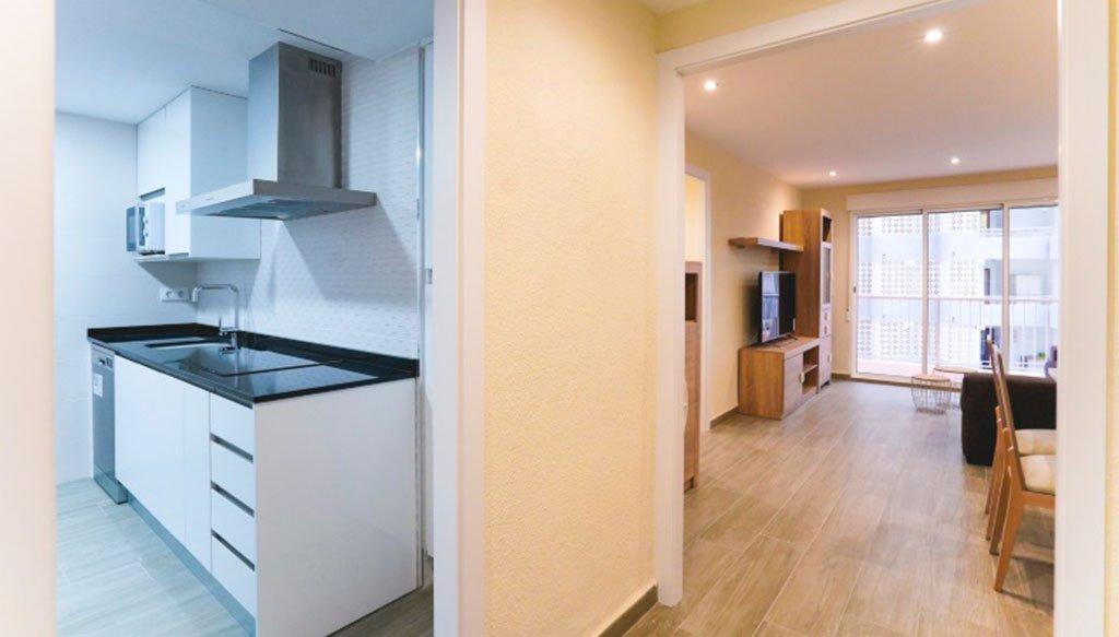 Distribuidor de un apartamento después de la reforma – Reformas Integrales Macamon