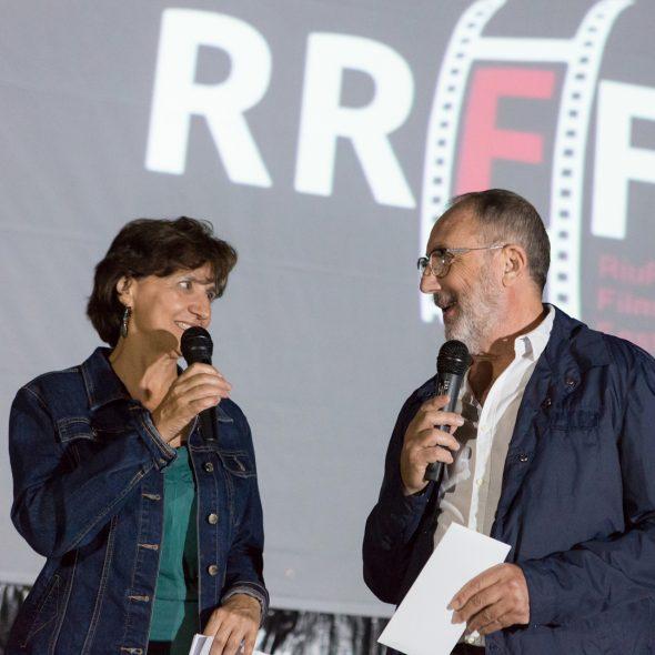 Imagen: Dora Martí, del IVAC y José Ramón Cardona