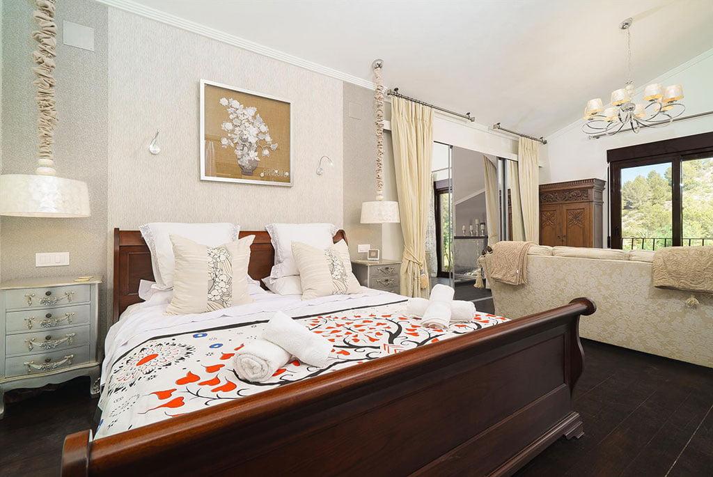 Chambre de luxe dans maison de location - Aguila Rent a Villa