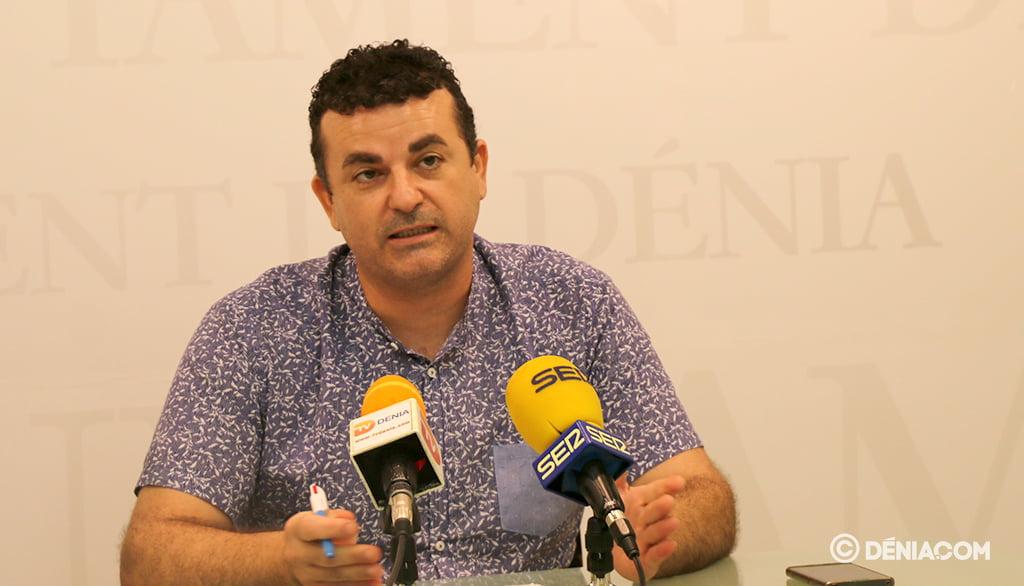 El concejal de Deportes, Raúl García de la Reina