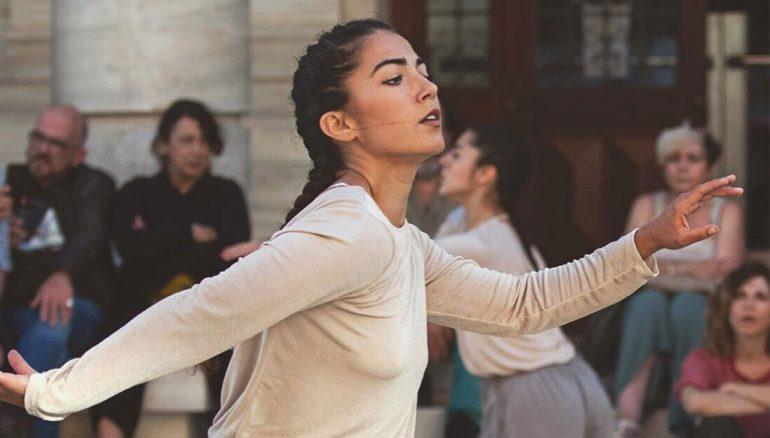 La bailarina de Dénia Elena Sevilla-Imagen Germán Antón