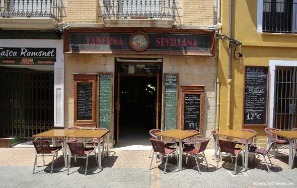 Imagen: Taberna andaluza en la calle Loreto en Dénia - Taberna Sevillana
