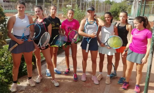 Image: Absolute women's team of Tennis Club Dénia