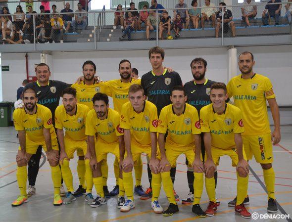 Image: Équipe de la CFS Mar Dénia contre Sabadell