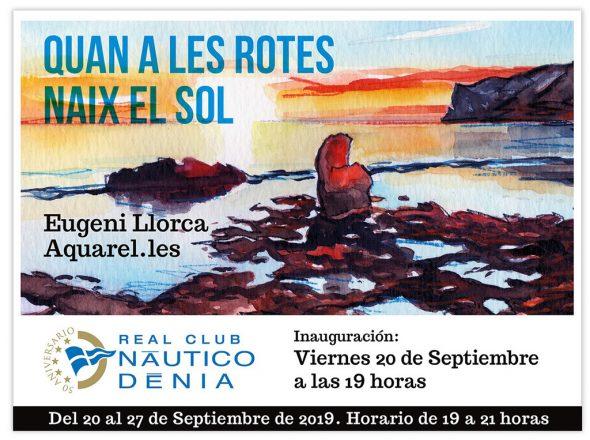 Bild: Ausstellung Eugeni Llorca Real Club Nautico Dénia