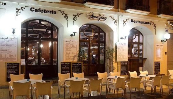 Imagen: Fachada Restaurante Amazing en Dénia