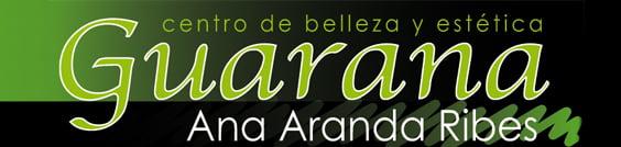 Logotipo Guaraná, centro de estética en Dénia