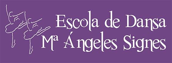 Imagen: Logotipo Escola de Dansa Mª Ángeles Signes