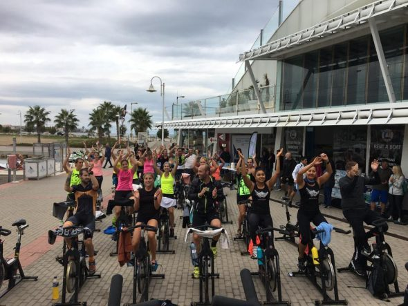 Imatge: Marató de Spinning a Dénia
