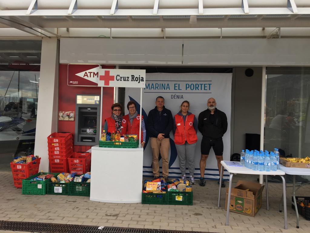 Red Cross and Marina El Portet solidarity marathon