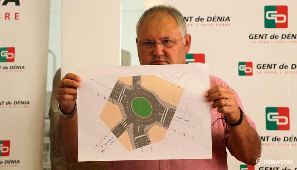 Mario Vidal, porta-voz do Gent de Dénia