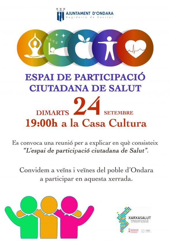 Image: Ondara convoque une réunion de citoyens pour créer un espace de santé