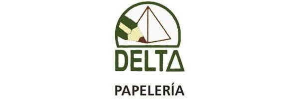 Logo de la papeterie Delta