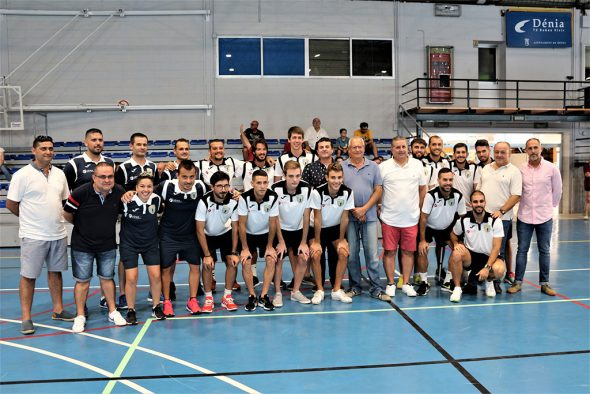 Image: The team staff together with the municipal authorities